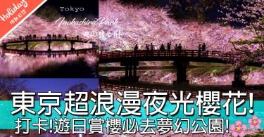 日本網民瘋傳!情侶打卡必到超浪漫賞櫻公園!激似新海誠秒速5厘米場景!