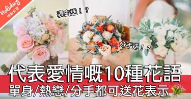 學嘢啦~代表愛情嘅10種花有10種唔同嘅花語表達!唔好再送錯同收錯花啦~~~