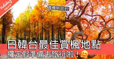 準備秋天去日、韓、台睇紅葉!盤點各地最佳賞楓期和賞楓地點~「攞定假」準備去旅行啦!