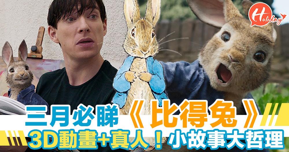 《比得兔》動畫交織真人演出!輕鬆道出人生哲理!