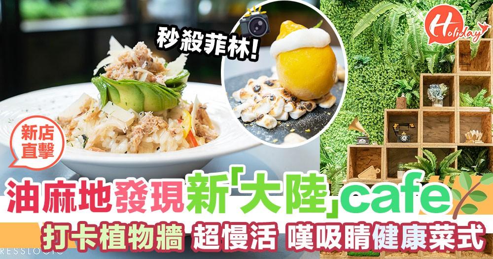 發現新「大陸」style cafe!油麻地超慢活+田園系cafe,嘆超濃郁明太子意粉、超吸睛甜品sssss~